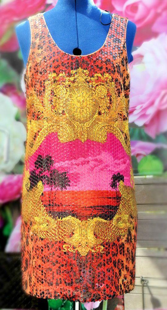 NIEUW VERSACE FOR H&M JURK MAAT 34 in Kleding en mode, Dameskleding, Merkkleding | eBay