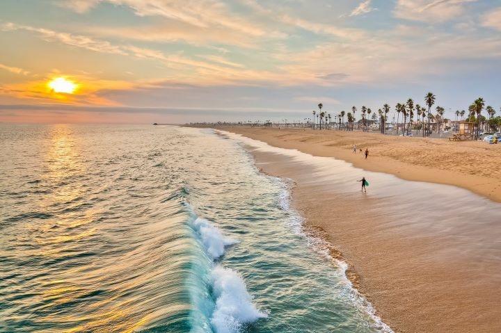 Southern California Beach Sunset