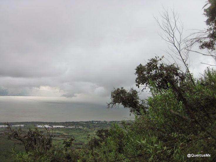 Laguna de Chapala vista desde el Cerro García