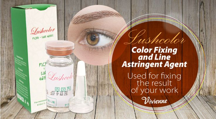 Microblading is gaining popularity today. How to achieve professionalism in this business? Use only the highest quality products! Lushcolor allows fixing the pigment color and lines, due to which your work will delight your client even in a long period of time. Choose the best with Vivienne!  http://amp.gs/TeL1    PRICE: 16,67$    #vivienne #microblading #brows #browartist #browmaker