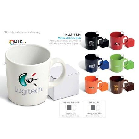 Mega-Mocca Ceramic Coffee Mug   Corporate Gifts by inMotion Promotions