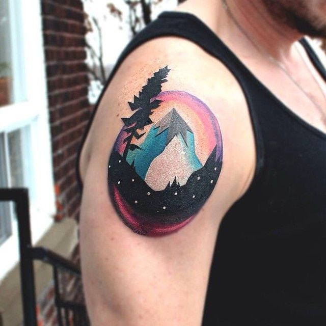 Tattoo Ideas Mountains: 17 Best Images About Camping/Mountains Tattoo On Pinterest