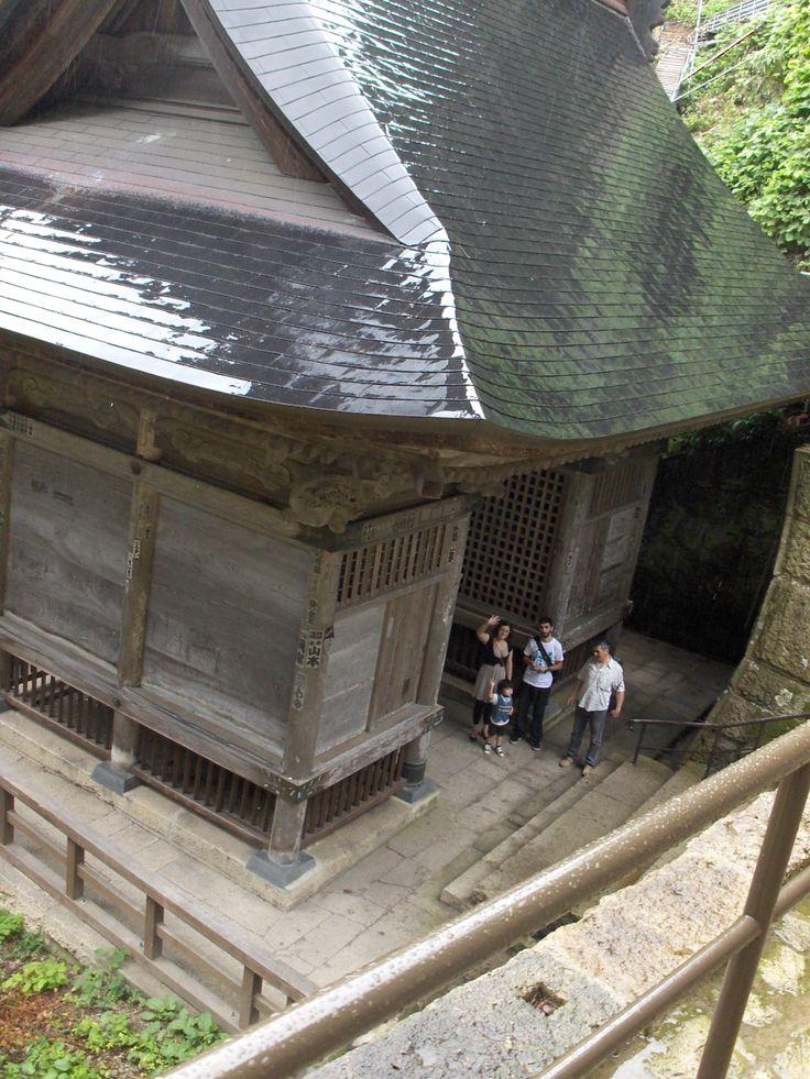 five points to the top: Trailer Route; Temple Gate, Gate Niomon, Okunoin - Daibutuden, Kaizando - Godaido