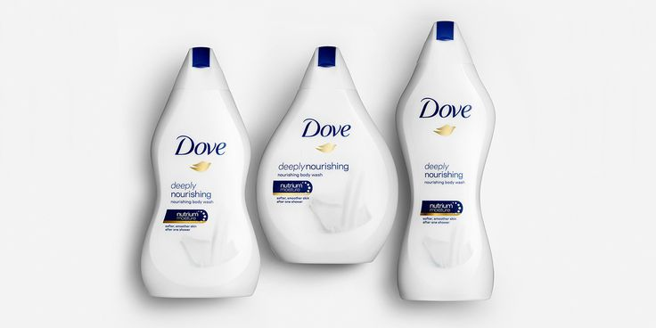FEMININITY : Clever packaging from Ogilvy London. Doves 'Real Beauty' porducts come in all shapes and sizes.