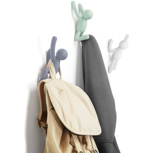 Umbra Buddy Wall Coat Hooks - Multi (Set of 3): Image 11