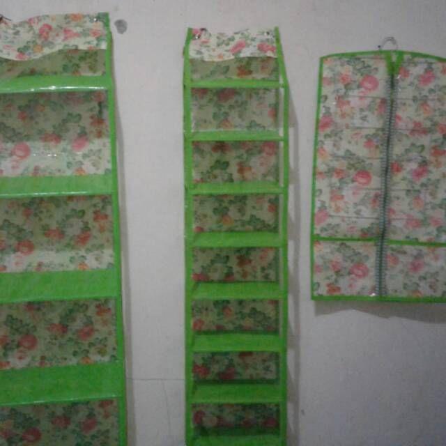 Saya menjual paket 3in1 ( rak tas rak sepatu dan rak jilbab) seharga $98000.00. Dapatkan produk ini hanya di Shopee! https://shopee.co.id/klikgrosirorganizer/105302279 #ShopeeID