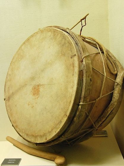Dhol (larger) – Davul (smaller) (percussion Armenian musical instrument)