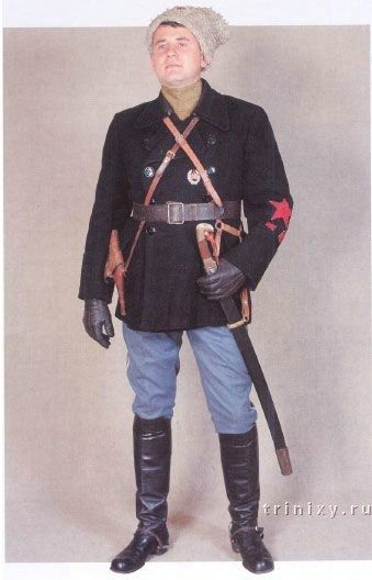 A company commander, 1919. - Uniforms In The Red Army