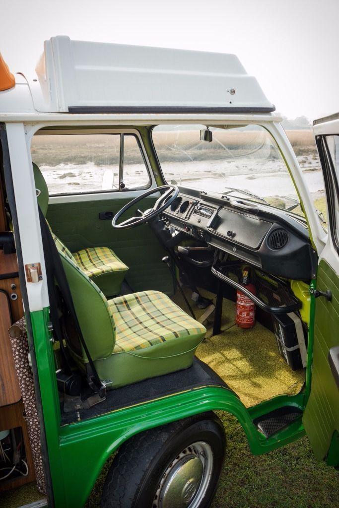 VW Type 2 Bay Campervan 1979 with original Westfalia interior and reconditioned 2L petrol engine ...