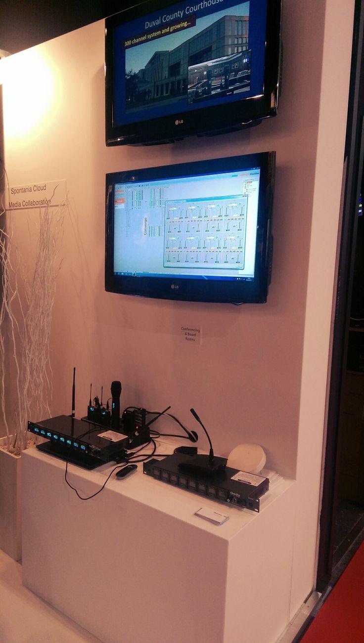 Clearone #Videoconferenza #audiopro #UHF #WS800