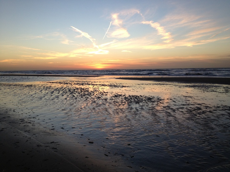 Zonsondergang bij PaZ 22 november 2012