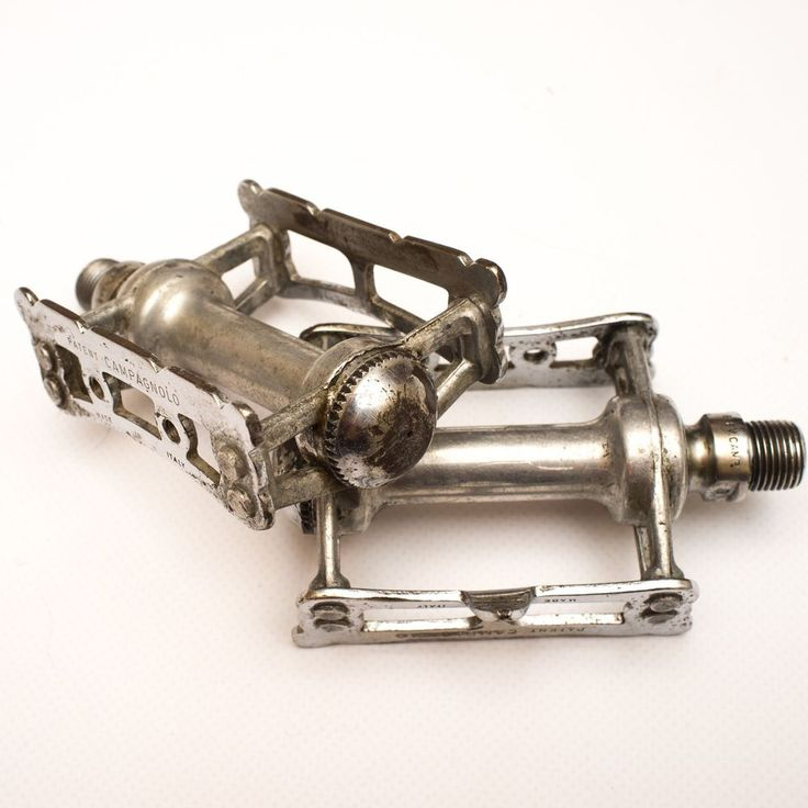 Vintage Campagnolo Record Track Pedals  #Campagnolo #Steel #Track #Pedals #cycling #cycle #fixedgear #pista