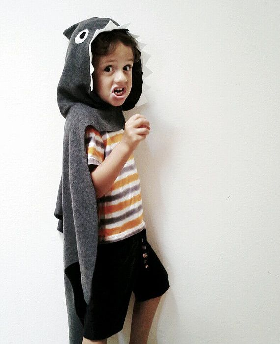 handmade halloween costumes for kids who dont really want to wear costumes - Halloween Costume Shark