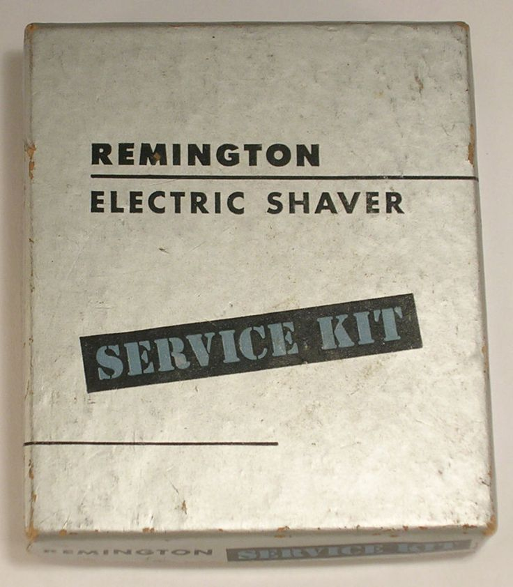Remington Electric Shaver Service Kit Circa 1960s Vintage with Box