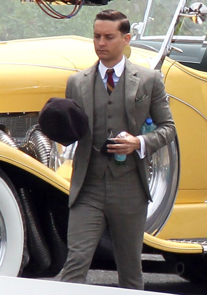 The Great Gatsby 3 Piece Wedding Suits Pinterest