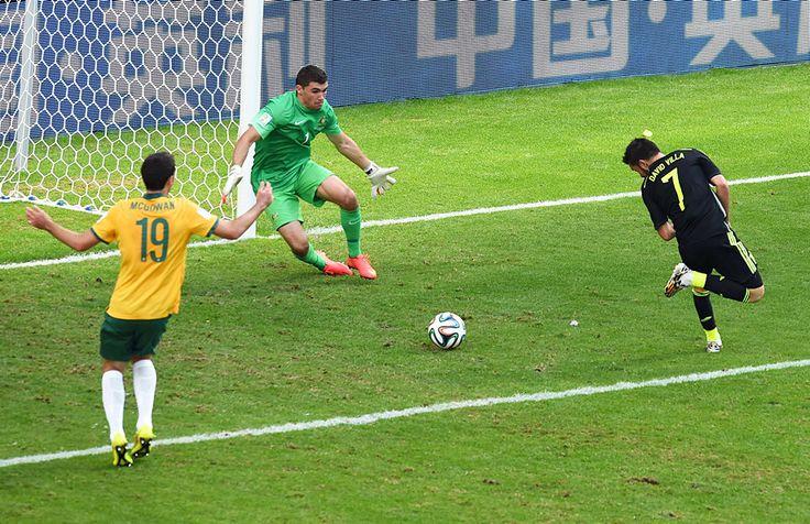 Испанцы разгромили сборную Австралии— 3:0 - Чемпионат