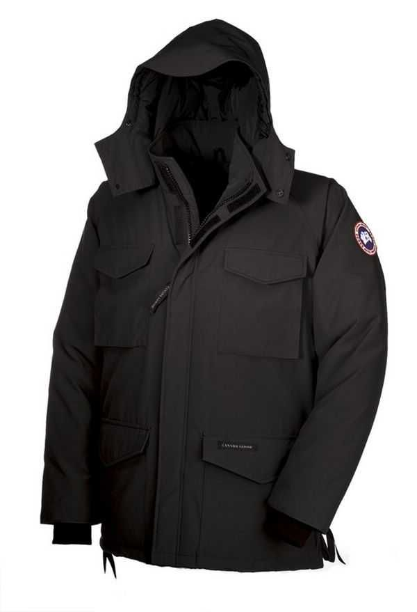 Canada Goose Constable Parka Black Men's Jackets