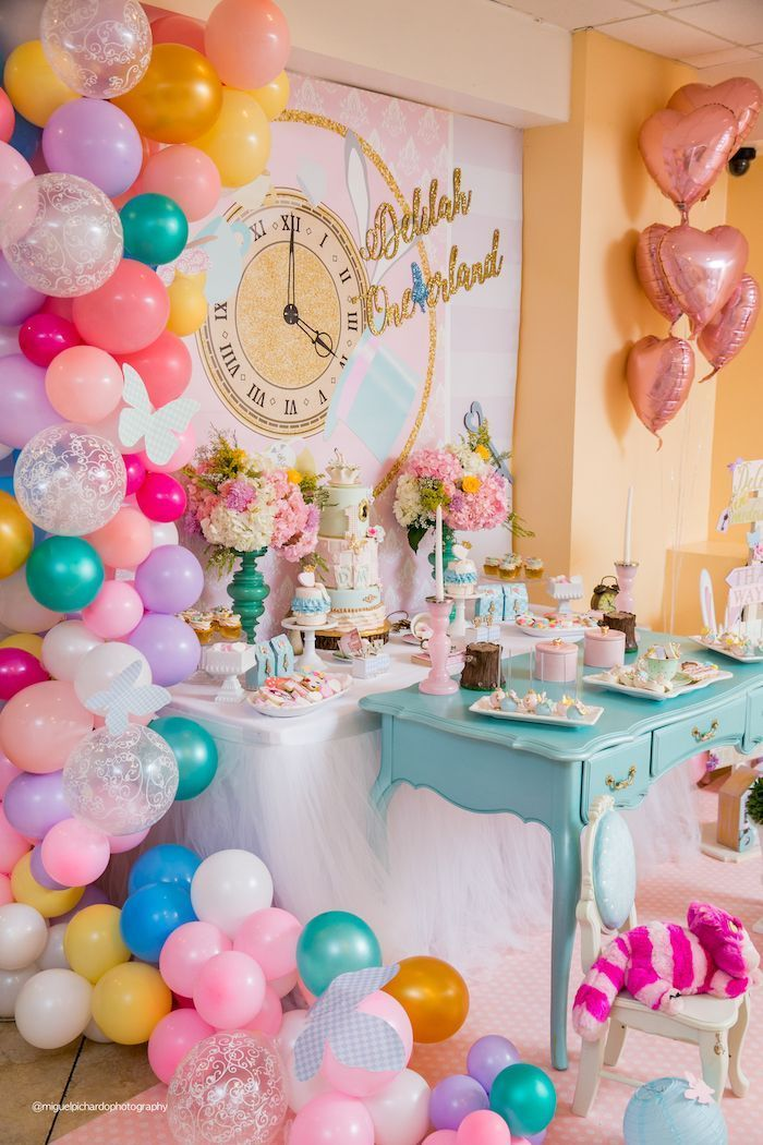 Alice In Wonderland Tea Party Wonderland Party Decorations