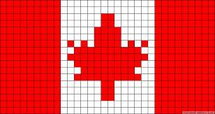 """Результат пошуку зображень за запитом """"вышивка крестом схема флаг канады"""""""