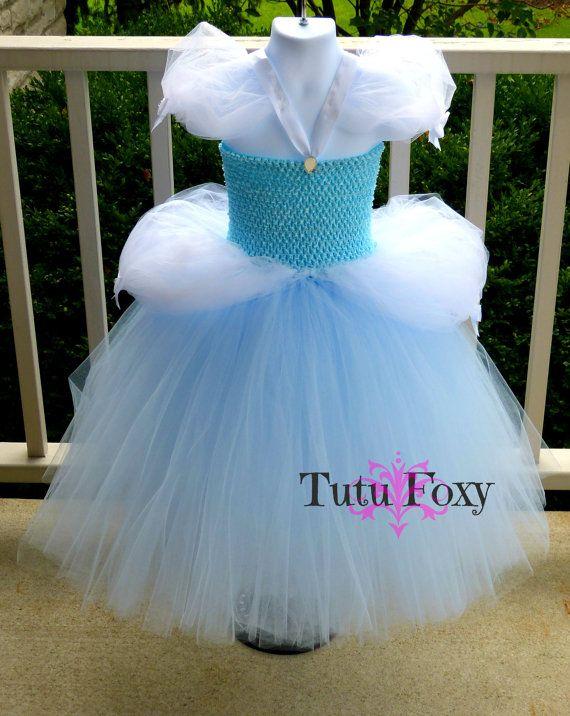 Cinderella Tutu Dress Cinderella Dress Cinderella by TutuFoxy
