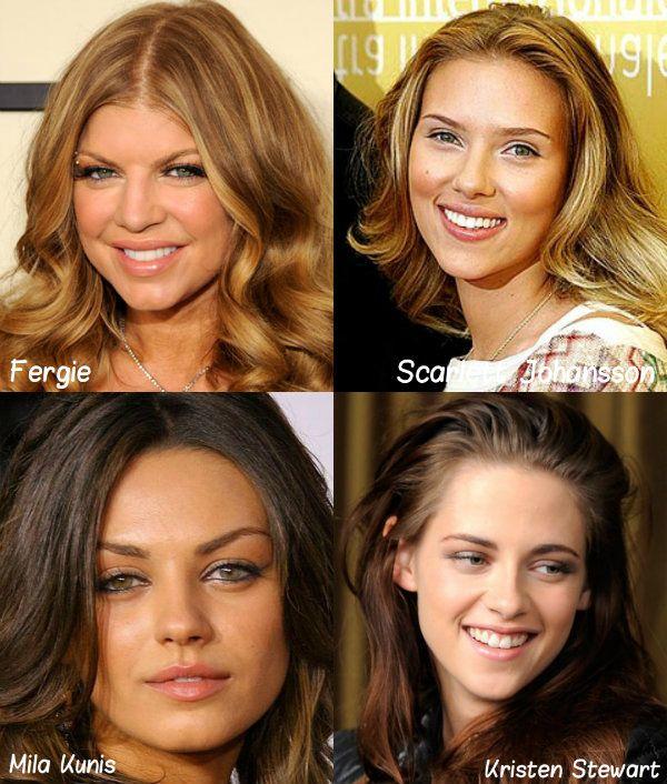 Farba vlasov podľa farebného typu