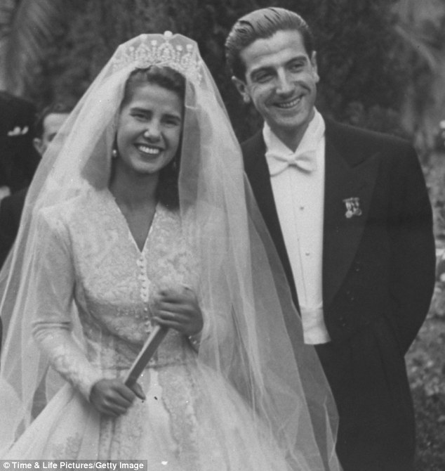 The Duchess of Alba on her 1947 wedding day
