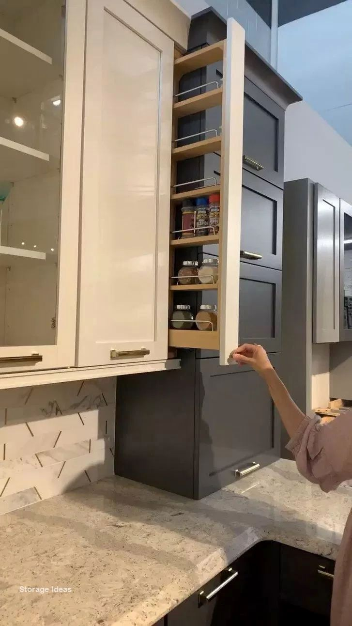 Pin On Kitchen Storage Ideas