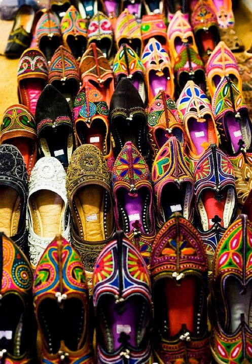 Afghan hand made kuchi shoes