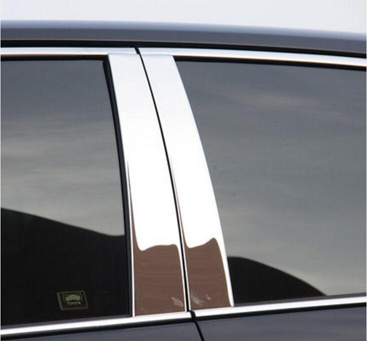 42.30$  Watch now - http://aliob2.shopchina.info/go.php?t=32672312906 - 6pcs Chrome Central Window Pillar Posts Trim For Toyota Camry 2012 2013 2014 2015 42.30$ #magazine