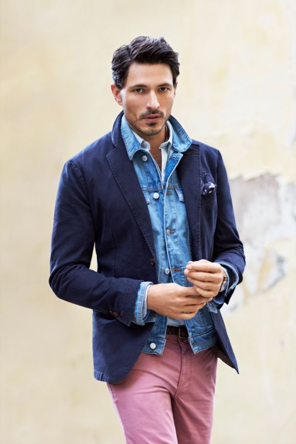 Andres Velencoso Segura for H.E. by Mango Fall/Winter 2013 Campaign