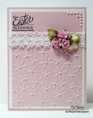 from Embellished Dreams blogspot: Cardshandmad Papercraft, Blessed Cards, Cards Ideas, Cards Handmade Papercraft, Handmade Cards, Pretty Cards, Cards Inspiration, Dainty Cards