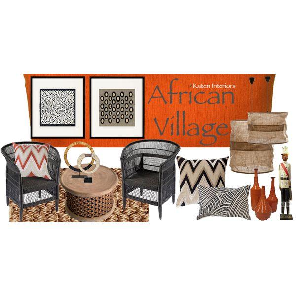 Moodboard African Village