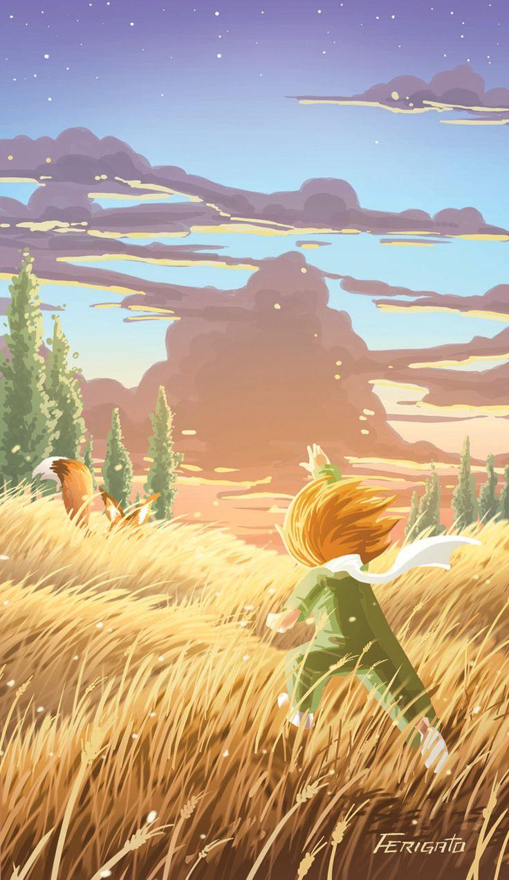 Le Petit Prince #illustration #lepetitprince #thelittleprince