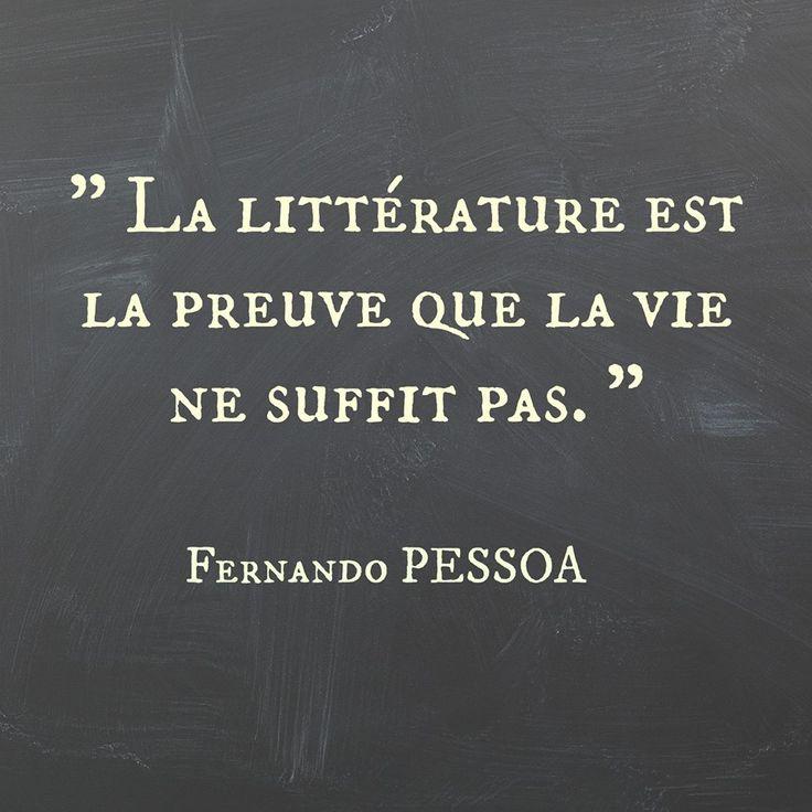 La littérature                                                       …