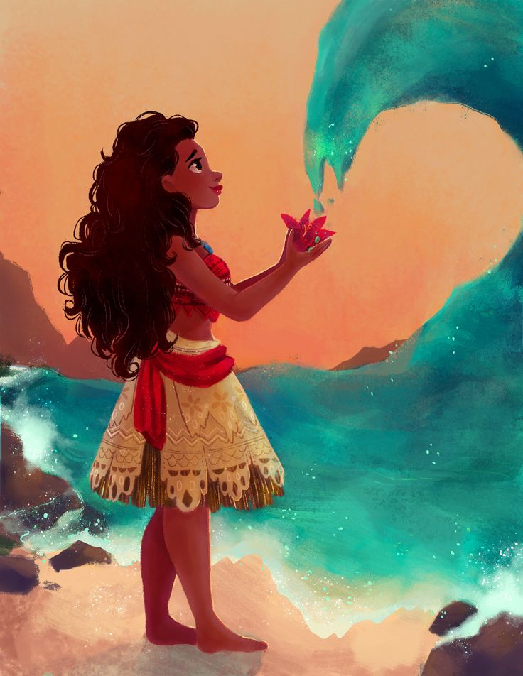 Moana! Also Speedpaint! Commissions are open! Email me if interested. :)