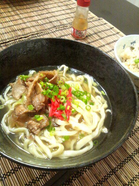 おうちで手軽に作る 沖縄そば by めどりんこ [クックパッド] 簡単おいしいみんなのレシピが226万品