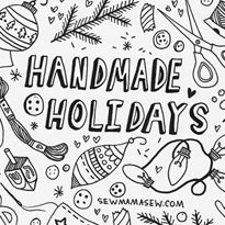 8th Annual Handmade Holidays in November.  Always look forward to this event, not that I need anymore ideas of things to make, but it is fun to look, and try to win stuff.