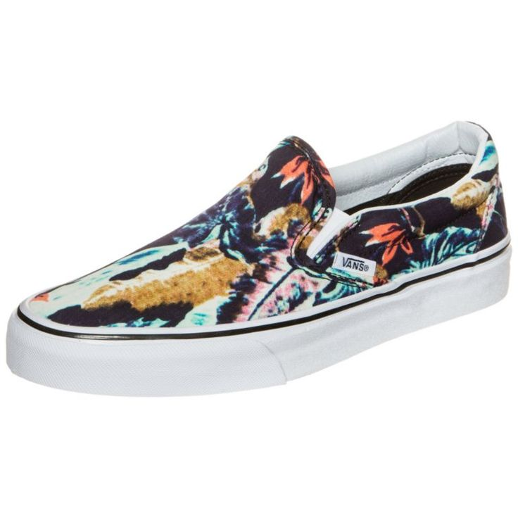 #Vans #Classic #Slip-On #Tropical #Sneaker #Damen #schwarz / #bunt