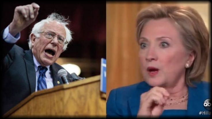 IT FINALLY HAPPENED! LOOK HOW BERNIE SANDERS JUST STABBED HILLARY CLINTO...