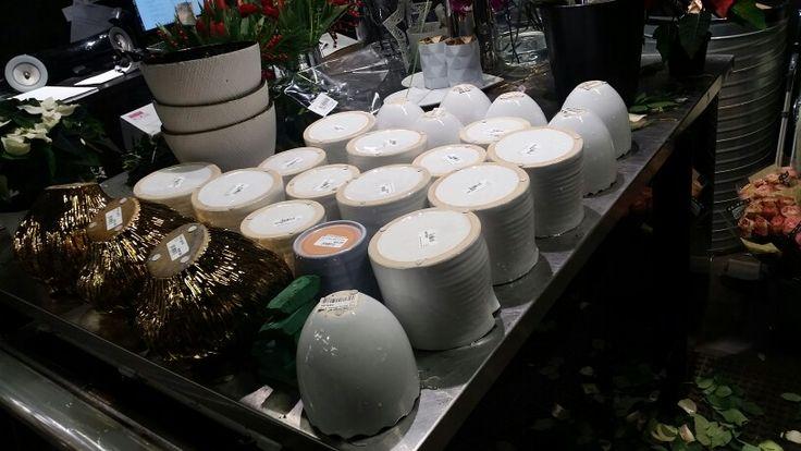 Jeg var så heldig at jeg fikk lov til å vaske alle disse vasene!