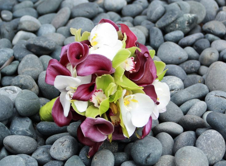 Purple Chartreuse Bouquet