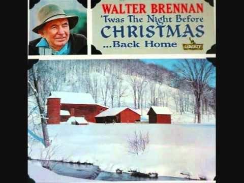 Christmas Together---Walter Brennan