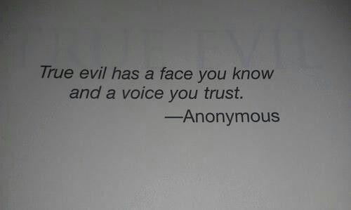 Evil .