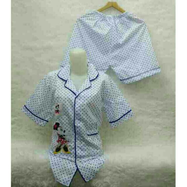 Saya menjual Kaos wanita / tk piyama polka blue fit L Besar / stelan baju tidur seharga Rp75.000. Dapatkan produk ini hanya di Shopee! https://shopee.co.id/ssfashionkaos/391914221/ #ShopeeID