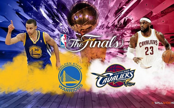Curry's Warriors vs LeBron's Cavaliers NBA The Finals 2015 ...