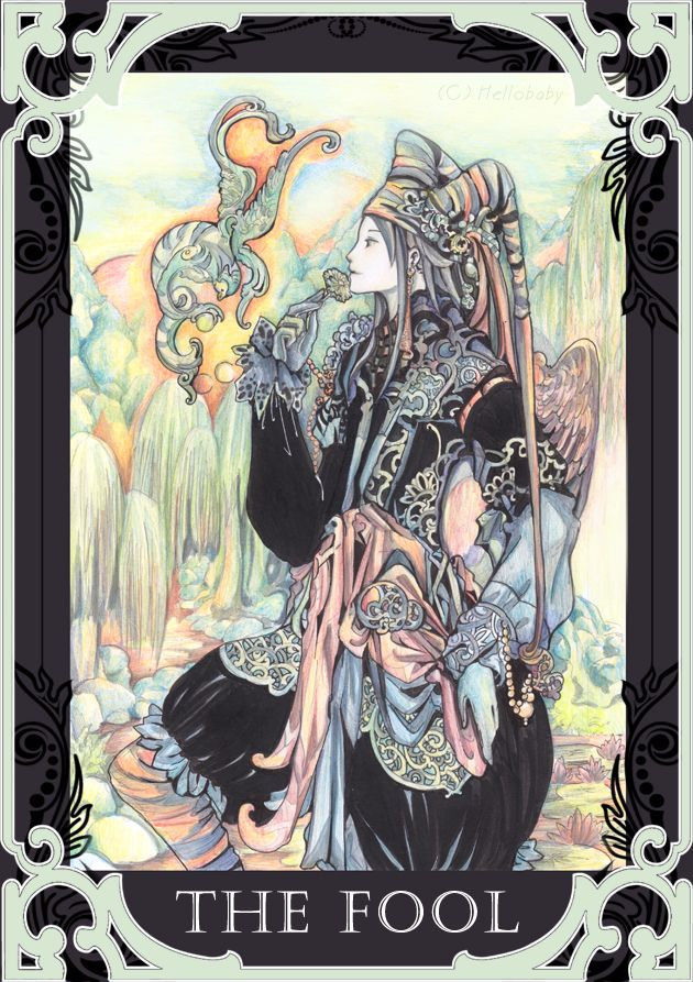 The Fool Tarot by hellobaby