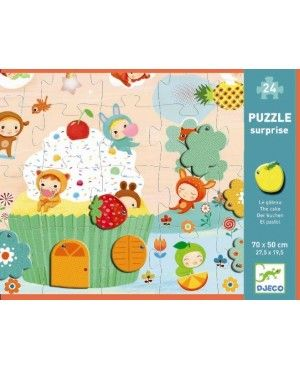 Grote puzzel the Cake 24st - Djeco