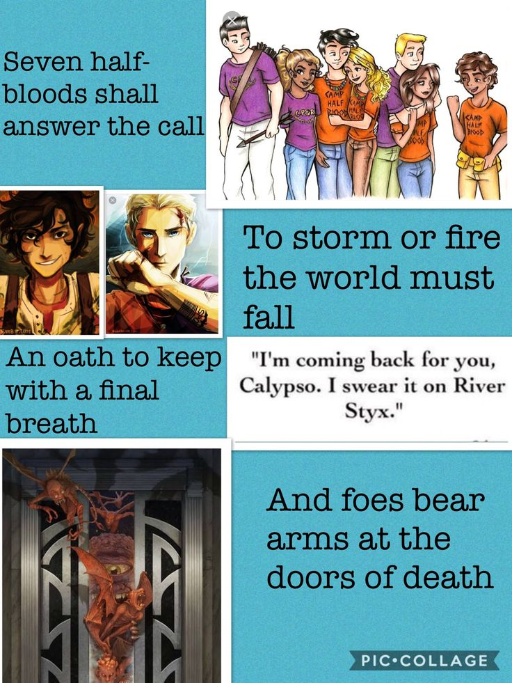 Prophecy from HoO heroes of Olympus