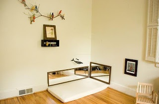 Montessori bedroom.