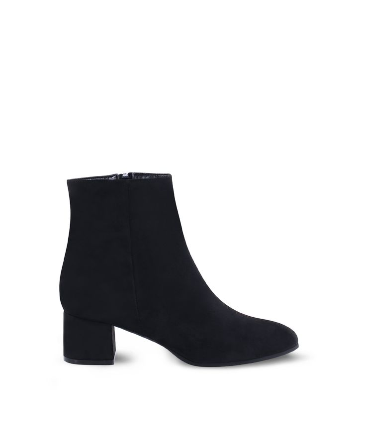 SANTE ankle heeled bootie for all day xmas walks... Black